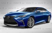 曝雷克萨斯全新LS效果图 即将北美车展发布