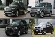 四款中大型进口SUV车型推荐 全路况保障