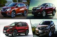四款热门中型SUV推荐 综合产品力出众
