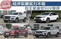 经济实惠实力不俗 自主紧凑型SUV推荐