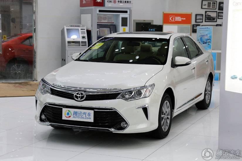 [腾讯行情]泉州 丰田凯美瑞优惠2.3万元