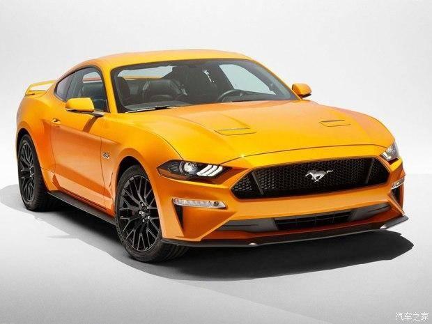 福特新款Mustang官图发布 前脸设计突变