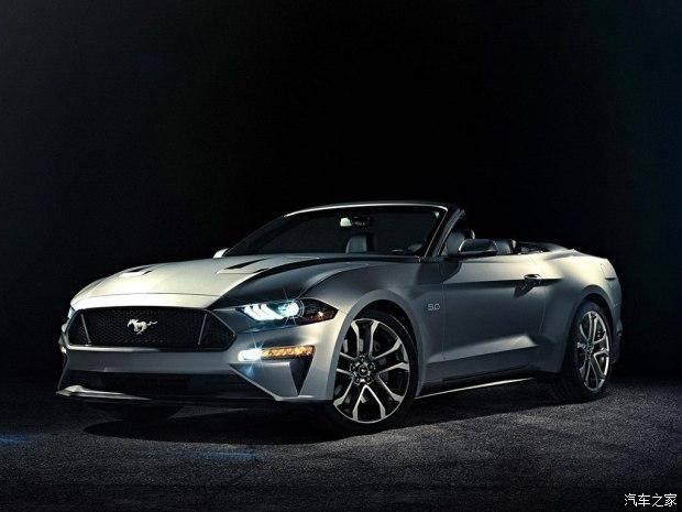 福特新款Mustang敞篷版官图 别具风味