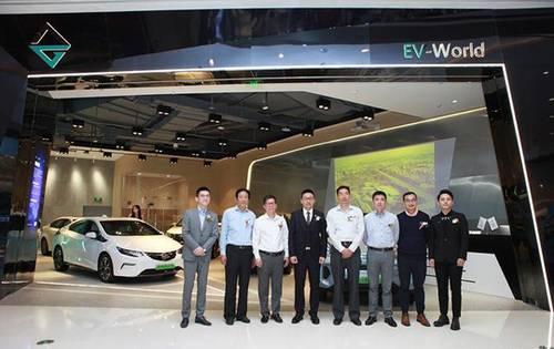 電動汽車新零售 首家EV-World新能源汽車體驗中心開業