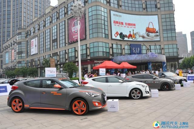 8款风格各异的veloster飞思改装车供市民们品鉴高清图片