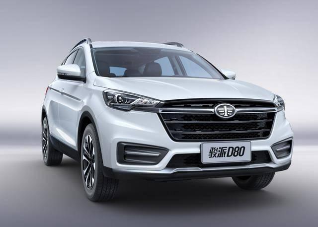 天津一汽全新SUV 命名为骏派D80