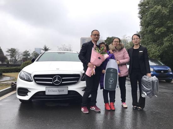 浙江越星 与智者同行 奔驰E级运动版车主访谈