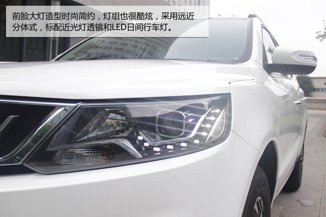 全新造型实力出众 吉利远景SUV新车实拍高清图片