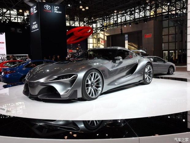 4款超级跑车逐一问世 丰田拥宝马心脏