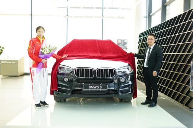 奥运冠军丁霞的选择 沈阳中顺盛宝BMW X5