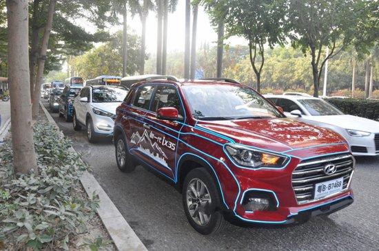 北京现代新一代ix35 深圳城市巡游活动完美落幕