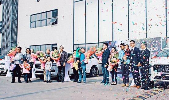 路·见不凡 | 深圳华沃全新XC60首批集体交车仪式圆满落幕