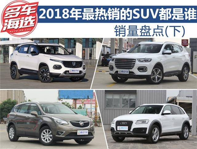 销量盘点 2018年热销的SUV都有谁?
