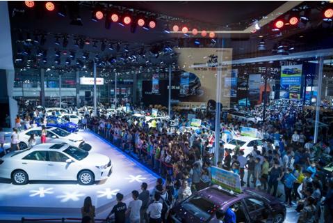 政策利好之际迎来2019深港澳国际车展