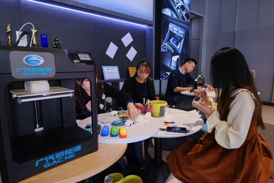 鹏城的25小时生活 广汽新能源体验中心首秀 开创智能出行新时代