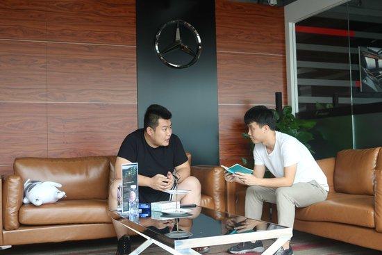 腾讯汽车深圳站专访:深圳房车汇大客户部经理马连亮