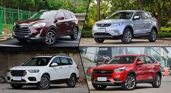 正面怼合资 高性价比的自主SUV推荐