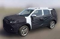 北京现代全新SUV谍照曝光 上海车展首发