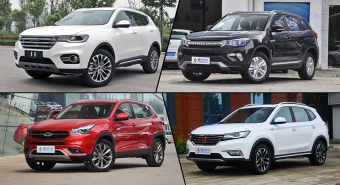10-15万自主SUV推荐 中国品牌崛起