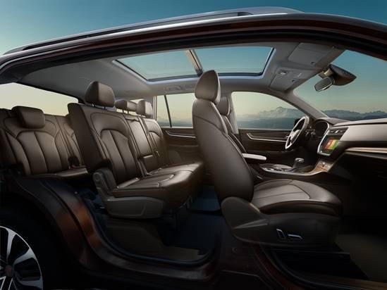 全领域大7座SUV荣威RX8 4月29日深圳豪迈上市