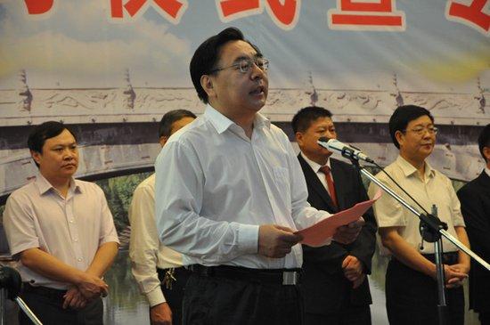 赵县县长张敏周发表讲话图片