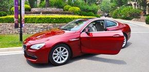 腾讯试驾BMW 6系双门轿跑车 飞红流炽 凝固瞬间之美
