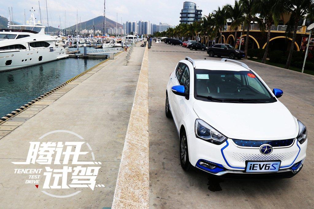 有颜值更有实力 试驾江淮iEV6S纯电动SUV高清图片