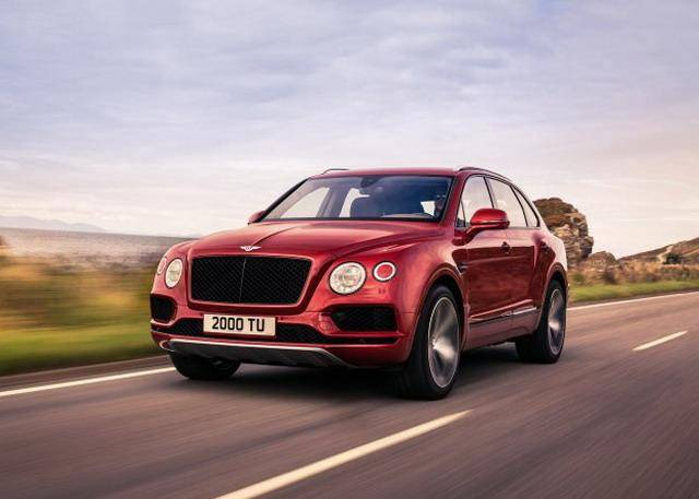 新增动力车型 宾利添越V8汽油版官图发布