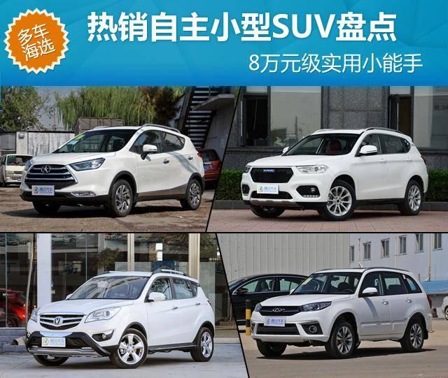 [车市导购]8万元级实用小能手 热销自主小型SUV盘点
