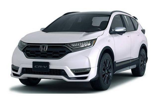本田CR-V Custom Concept官图 或2018年亮相