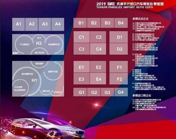 2019天津平行进口车博览会4月18日开幕