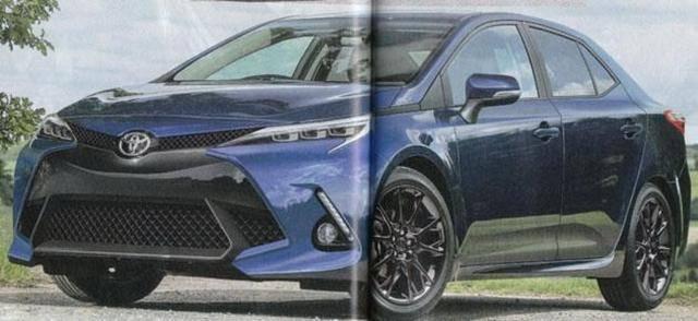 丰田终于发飙了 全新一代卡罗拉增1.5T版本