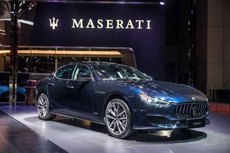 玛莎拉蒂携2019款全系车型亮相上海车展