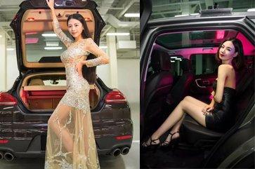 泰州第一届车模大赛 香车、美女