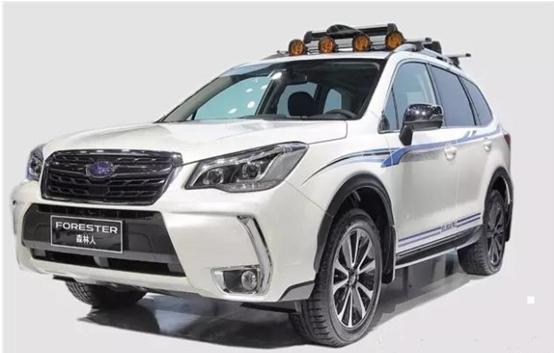 Forester森林人冰雪运动版车型亮相新疆首府