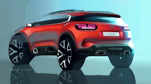 雪铁龙全新一代SUV C5 Aircross概念图曝光