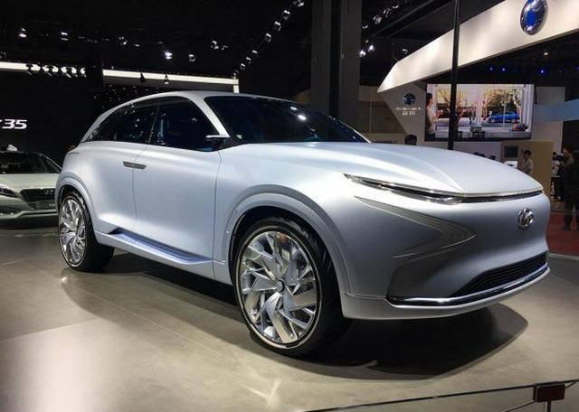 续航可达800km 现代新氢燃料电池车首发