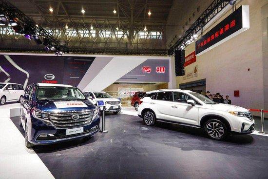 新传祺GS5乘势而上 广汽传祺全明星阵容登陆武汉车展