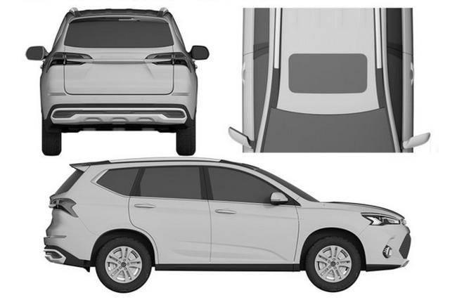 曝长城哈弗全新SUV谍照 或将提供插电混动版