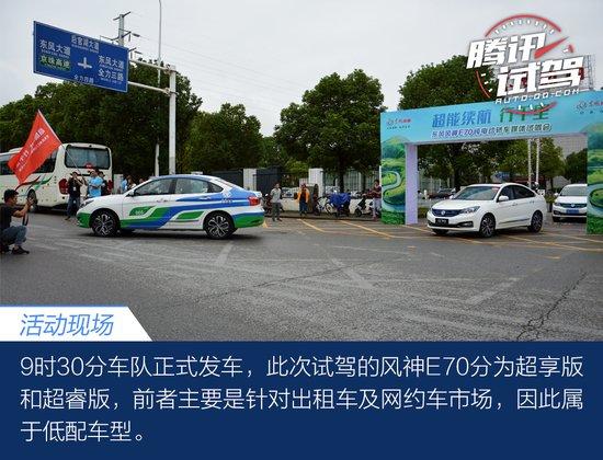 从江城到古城 体验纯电动车东风风神E70