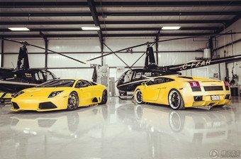 Lamborghini停车棚摄影集