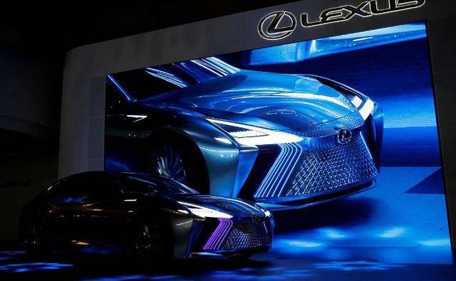 雷克萨斯概念车LS+ Concept展示自动驾驶技术