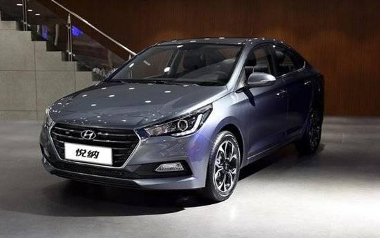 北京现代悦纳今日上市 共推2种动力6款车型