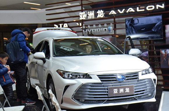 一汽丰田全新旗舰车型亚洲龙巡展无锡站