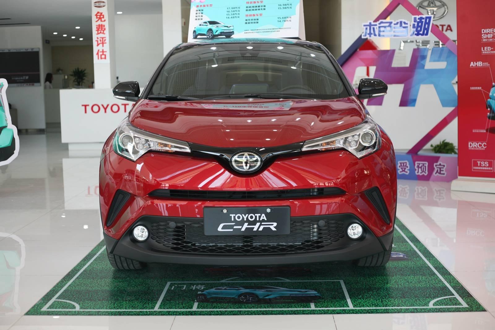 越级产品力丰田够自信 实拍广汽丰田C-HR