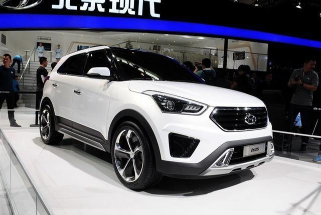 北京现代ix25量产版10月上市 或14万起售