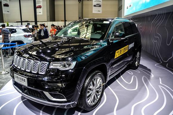 全球SUV领导品牌 Jeep西安五一车展全系实拍