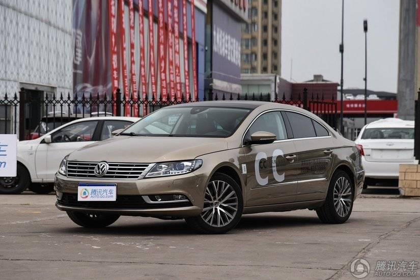 [腾讯行情]湘潭 大众CC购车现金优惠3.4万