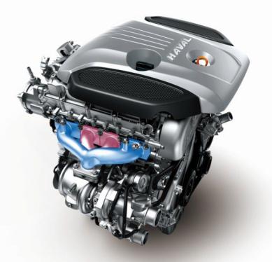 搭载2.0T+8AT全新动力组合  新哈弗H8燃擎上市
