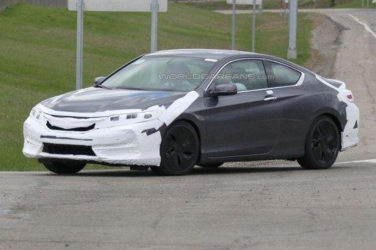 或今年底推出 本田新款雅阁Coupe谍照